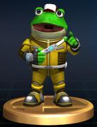 Slippy Toad - Brawl Trophy