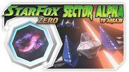 Star Fox Zero - Sector Alpha To Area 3! Wii U Gameplay Walkthough With GamePad 2