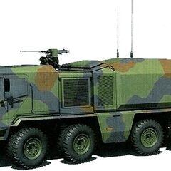 Militarized Heavy Explorer