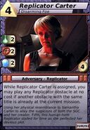 Replicator Carter (Disarming Foe)