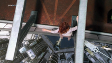 Kate in her nightmare