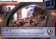 Evacuate Village