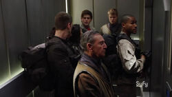 Bunker elevator