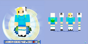 Minecraft skin fionna from adventure time by hermesbird04-d53j9px
