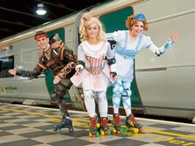 Starlight express irish premiere ready to roll at the lime tree