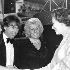 London, 1984, meeting the Queen