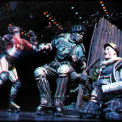 Ray Shell as Poppa, London 1997