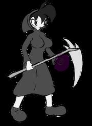 Grim Shredda concept sketch