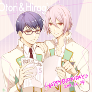 Twitter Birthday Card by Hidou Ren O&H