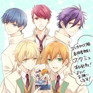 Celebrating the finished manga