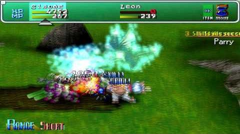 Star Ocean 2 - Claude,Dragon Howl max proficiency
