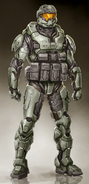 SSOID Operative Cara Bishop Armor