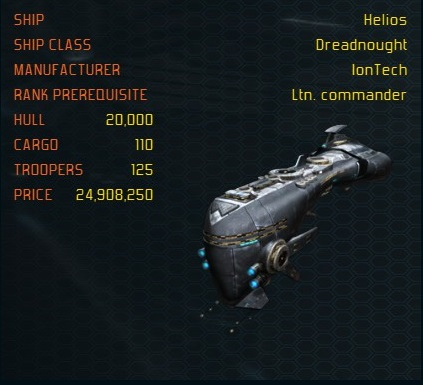 Helios ship