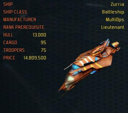 Zurria ship