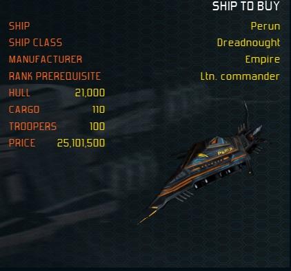 Perun ship