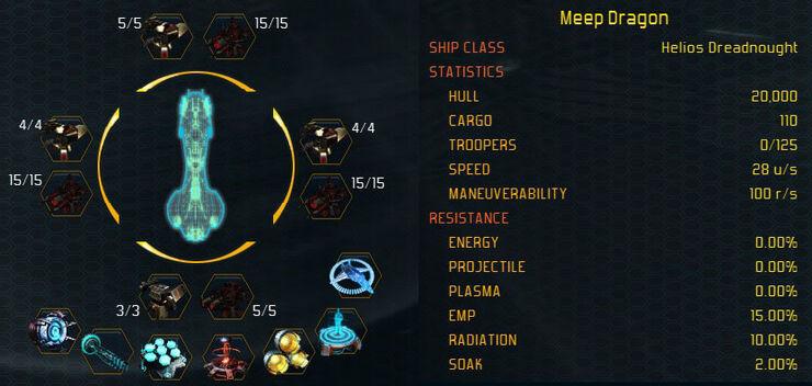 Helios stats