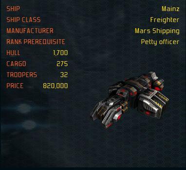 MAinz ship