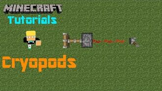 Minecraft Tutorials w Ben Cryopods (SQ)