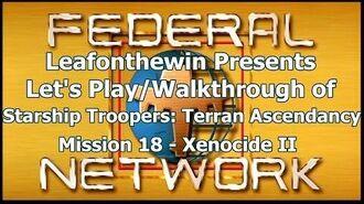 Walkthrough - Mission 18- Xenocide II