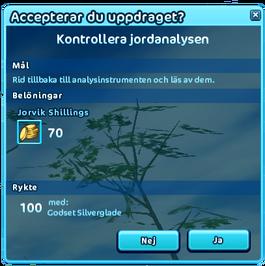 Kontrollera-jordanalys