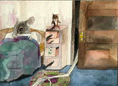Bogeyman Vs Mouse Kid by mmpratt99