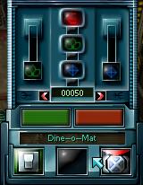 Dineomat-menu
