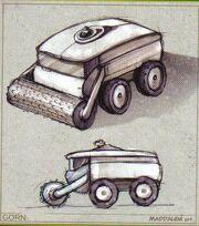 Gorn carrier tech IDW Comics