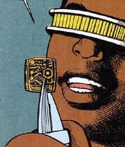 Emotion chip DC Comics