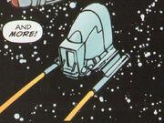 Romulan travel pod aft view