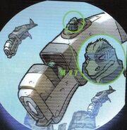 Gorn airship IDW Comics
