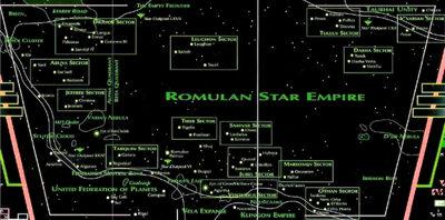 Romulan space