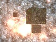 Cubes-exploding planet
