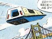 Air tram Marvel Comics