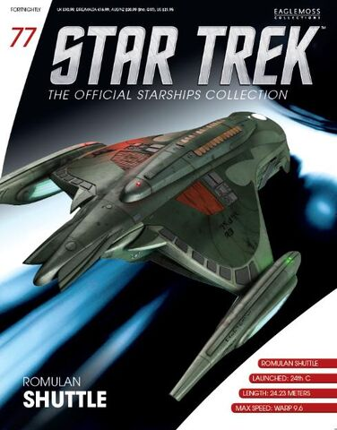 File:Romulan shuttle, Official Starships Collection 77.jpg
