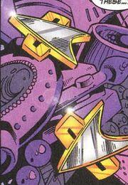 Starfleet combadges 2370s Marvel Comics