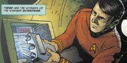 Trident scanner 2260s IDW Comics
