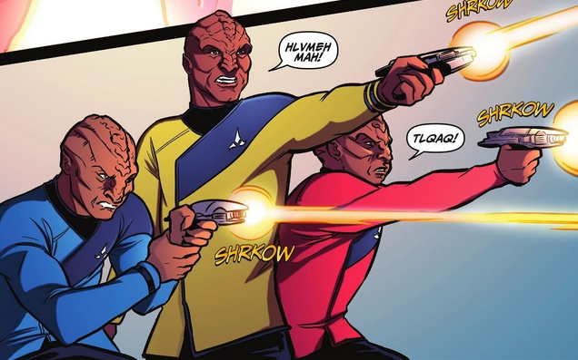 File:Klingon Enterprise officers.jpg