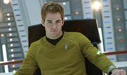 James T. Kirk on the Bridge as Captain
