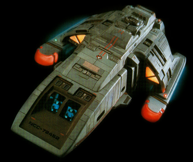 Runabout on Star Trek Deep Space Nine Interior