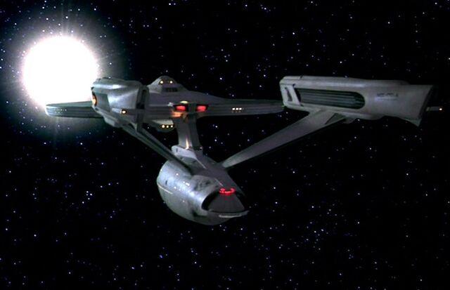 File:USS Enterprise-A Leaves Khitomer 1.jpg