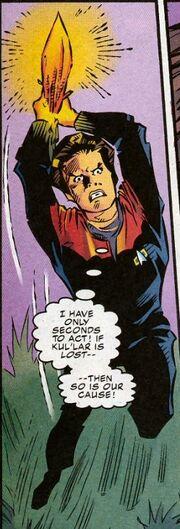 Janeway attacks the guardian