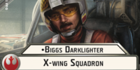 Biggs Darklighter X-Wing Squadron