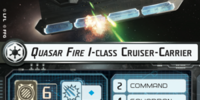 Quasar Fire I-class Cruiser-Carrier