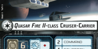 Quasar Fire II-class Cruiser-Carrier