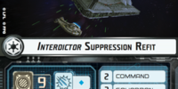 Interdictor Suppression Refit