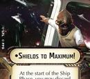 Shields to Maximum!