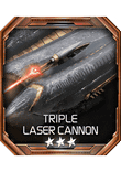 TripleLaserCannon