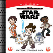 Star Wars Art of Coloring TLJ