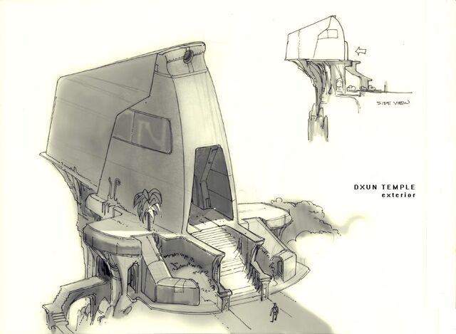 File:Dxun Temple concept art.jpg