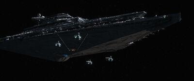 TFA FirstOrder Star Destroyer